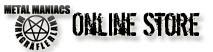 Metal Maniacs Markgräflerland Online Store