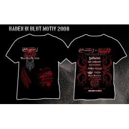 Baden in Blut - Festivalshirt 2008