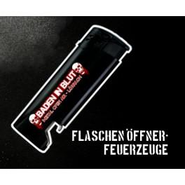 Baden In Blut Feuerzeug inkl. Bottle Opener